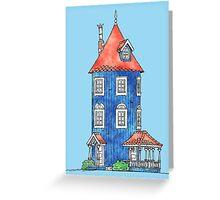 Moomin House Greeting Card
