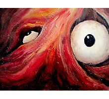 Eyes of Experienced Traumatism Photographic Print