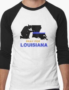 Pray for Louisiana Baton Rouge Men's Baseball ¾ T-Shirt