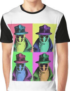 Rorschach Pop Art Graphic T-Shirt
