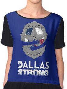 Dallas Strong Chiffon Top