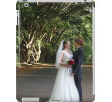 Forest Wedding Photography  iPad Case/Skin