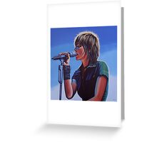 Nena Painting Greeting Card