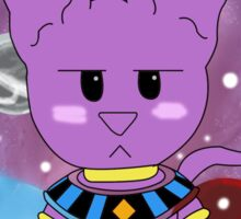 Lord Beerus - Chibi Sticker