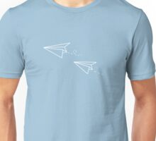Paper Airplanes Unisex T-Shirt