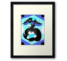 hm Framed Print