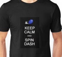 Keep calm and spin dash Unisex T-Shirt