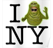 Ghostbusters - I SLIMER New York Poster