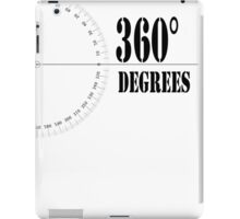 360° (Degrees Line) Clothing and Accesories iPad Case/Skin
