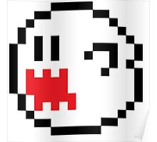 Mario Brothers Boo Ghost Poster