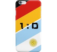 The 2014 World Cup finals iPhone Case/Skin