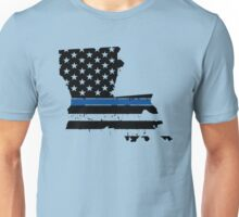 Pray For Baton Rouge Louisiana Blue Line Unisex T-Shirt