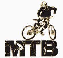 downhill, MTB Kids Tee