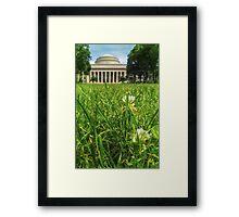 MIT Weeds of Wisdom Framed Print