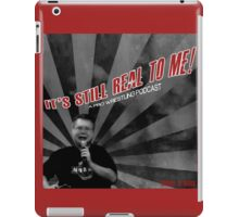 ISR2M Podcast Graphic Logo iPad Case/Skin