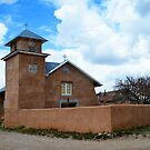 Holy Rosary Church in Truchas, New Mexico by Catherine Sherman