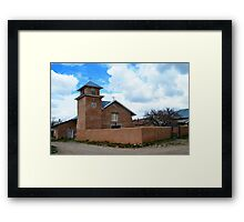 Holy Rosary Church in Truchas, New Mexico Framed Print