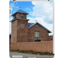 Holy Rosary Church in Truchas, New Mexico iPad Case/Skin