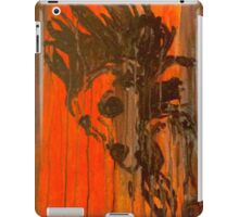 Punk Rocker - Watercolor Painting Image  iPad Case/Skin