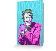 Cesar Romero Joker Greeting Card