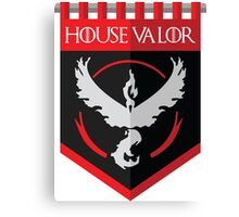 House Valor Canvas Print