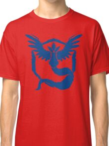 Team Mystic - Grunge Blue Classic T-Shirt