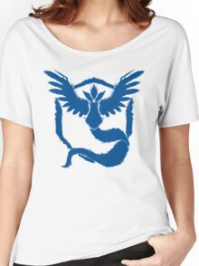 Team Mystic - Grunge Blue Women's Relaxed Fit T-Shirt