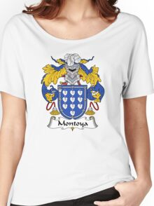 Montoya Coat of Arms/Family Crest Women's Relaxed Fit T-Shirt