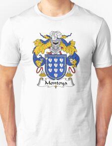 Montoya Coat of Arms/Family Crest Unisex T-Shirt
