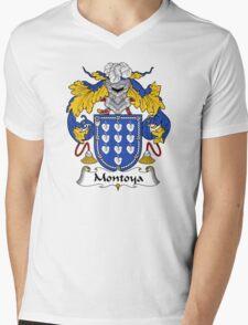 Montoya Coat of Arms/Family Crest Mens V-Neck T-Shirt