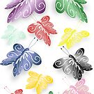 Colourful Butterflies Design by biglnet