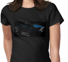Classic car shapes. Womens Fitted T-Shirt