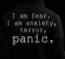Elliot - I am Fear... Sticker