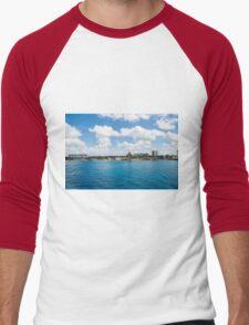 Coast of Cozumel  Men's Baseball ¾ T-Shirt