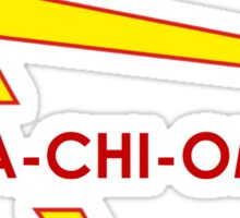 Alpha chi omega- in and out Sticker