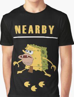 Rare Spongegar Cavemon is Nearby Graphic T-Shirt
