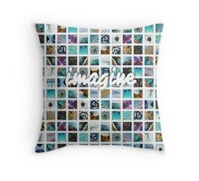 Connor Franta's Instagrams ( Collage ) ~ imagine version Throw Pillow