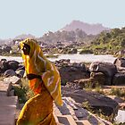 Returning from the river, Hampi, India by indiafrank