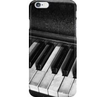 Antique Piano Keys iPhone Case/Skin