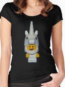 Lil Baby Unicorn Women's Fitted Scoop T-Shirt