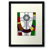 Fourth Doctor Who (Tom Baker) Framed Print
