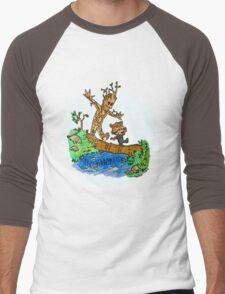 Groot and Rocket Men's Baseball ¾ T-Shirt