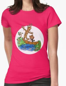 Groot and Rocket Womens Fitted T-Shirt