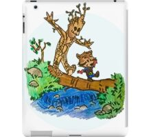 Groot and Rocket iPad Case/Skin