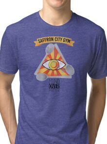 Saffron City Gym Tri-blend T-Shirt