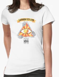 Saffron City Gym Womens Fitted T-Shirt