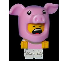 Cute Baby Piggy Photographic Print