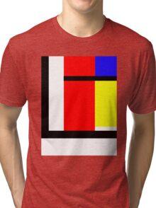 blocky style Tri-blend T-Shirt