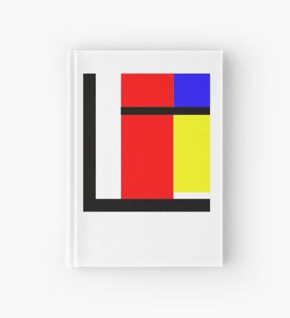 blocky style Hardcover Journal