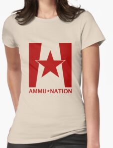 Ammu-Nation Womens Fitted T-Shirt